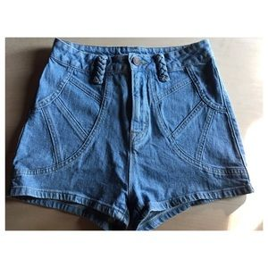 BDG High waisted pin up short